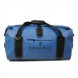 Blue waterproof camping bag
