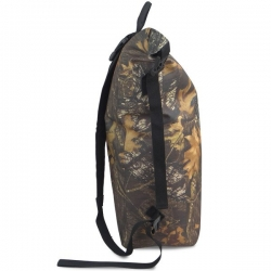 Camouflage waterproof camping backpack for forest adventure