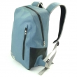 Blue waterproof backpack for relaxation